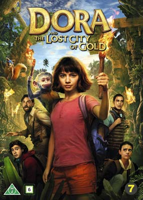 Dora and the Lost City of Gold  (DVD) - Klik her for at se billedet i stor størrelse.