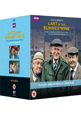 Last of the Summer  Wine: The Complete Collection (58-disc)  (DVD) - Klik her for at se billedet i stor størrelse.