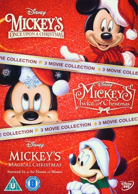Mickey Mouse Christmas Movie Collection (3 film) (DVD) - Klik her for at se billedet i stor størrelse.