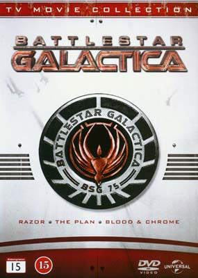 Battlestar Galactica: TV Movie Collection (3-disc) (DVD) - Klik her for at se billedet i stor størrelse.