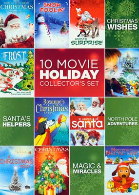 10 Movie Holiday Collector's Set (10 film) (DVD) - Klik her for at se billedet i stor størrelse.