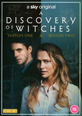 Discovery of Witches, A: Seasons 1 & 2 (5-disc) (DVD) - Klik her for at se billedet i stor størrelse.