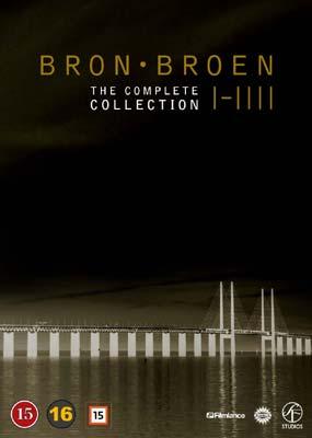 Broen I-IIII: The Complete Collection (15-disc) (DVD) - Klik her for at se billedet i stor størrelse.