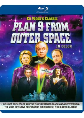 Plan 9 from Outer Space (Blu-ray) (BD) - Klik her for at se billedet i stor st�rrelse.