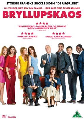 Bryllupskaos  (DVD) - Klik her for at se billedet i stor størrelse.
