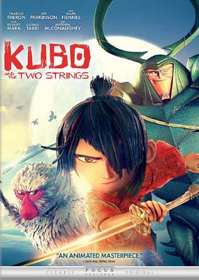 Kubo and the Two Strings  (DVD) - Klik her for at se billedet i stor størrelse.