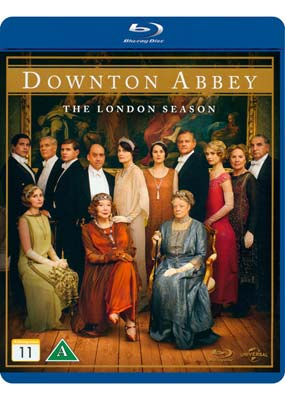 Downton Abbey:     The London Season (Blu-ray) (BD) - Klik her for at se billedet i stor størrelse.