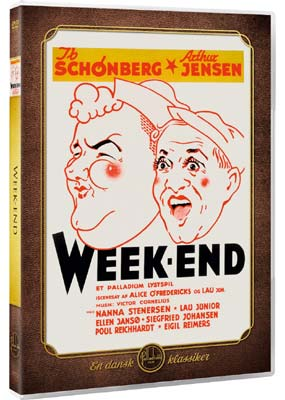 Week-end (Ib Schønberg)  (DVD) - Klik her for at se billedet i stor størrelse.