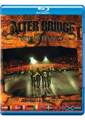 Alter Bridge: Live at Wembley - European Tour 2011 (Blu-ray & CD) (BD) - Klik her for at se billedet i stor st�rrelse.
