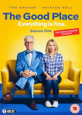 Good Place, The: Season  1 (2-disc) (DVD) - Klik her for at se billedet i stor størrelse.