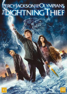 Percy Jackson  and the Olympians: The Lightning  Thief  (DVD) - Klik her for at se billedet i stor størrelse.
