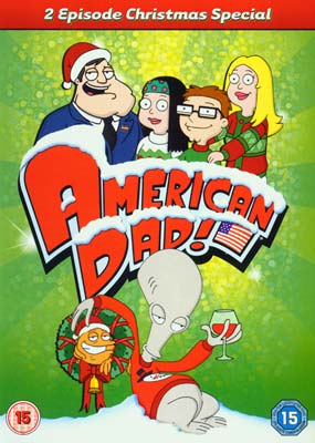 American Dad: Christmas with the Smiths  (DVD) - Klik her for at se billedet i stor størrelse.