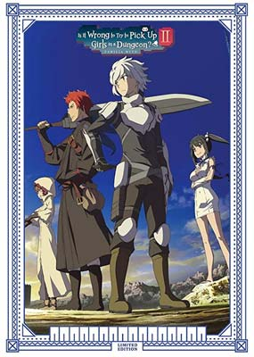 Is It Wrong to Try to Pick Up Girls in a Dungeon: Season 2 (Limited Edition)  (Blu-ray) (BD) - Klik her for at se billedet i stor størrelse.