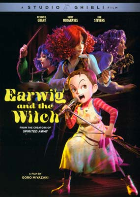 Earwig and the Witch  (DVD) - Klik her for at se billedet i stor størrelse.