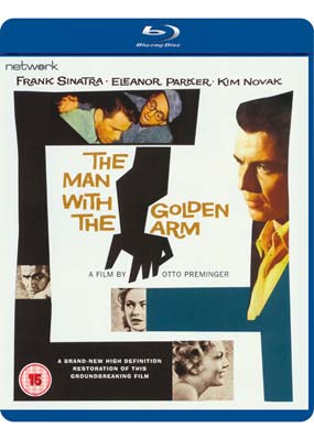Man with the Golden Arm,   The (Blu-ray) (BD) - Klik her for at se billedet i stor størrelse.