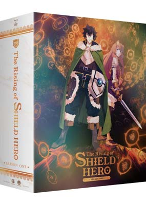 Rising of The Shield Hero, The: Season 1, Part 1 (Blu-ray & DVD) (BD) - Klik her for at se billedet i stor størrelse.
