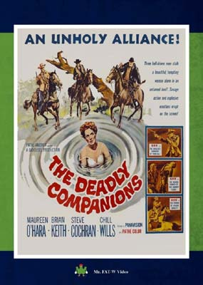 Deadly Companions, The (Mr. Fat-W Video) (DVD) - Klik her for at se billedet i stor størrelse.