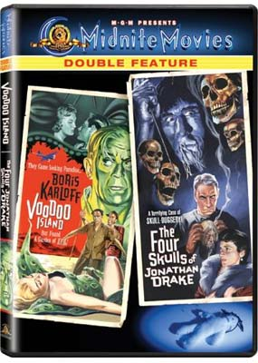 Voodoo Island / The Four Skulls of Jonathan Drake  (DVD) - Klik her for at se billedet i stor st�rrelse.