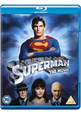 Superman: The  Movie  (Expanded Edition) (Blu-ray) (BD) - Klik her for at se billedet i stor størrelse.