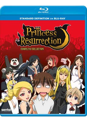 Princess Resurrection: Complete Collection (DVD på Blu-ray) (BD) - Klik her for at se billedet i stor størrelse.