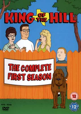 King of the Hill:  Season 1 (3-disc) (DVD) - Klik her for at se billedet i stor st�rrelse.