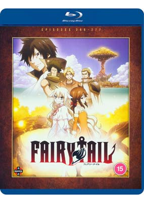 Fairy   Tail:  Collection 22½  (Zero) (Episodes 266-277) (Blu-ray) (BD) - Klik her for at se billedet i stor størrelse.