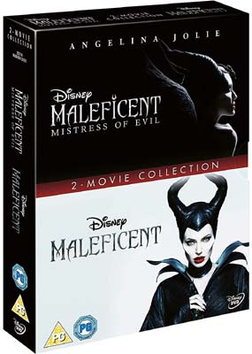 Maleficent: 2-Movie Collection  (DVD) - Klik her for at se billedet i stor størrelse.