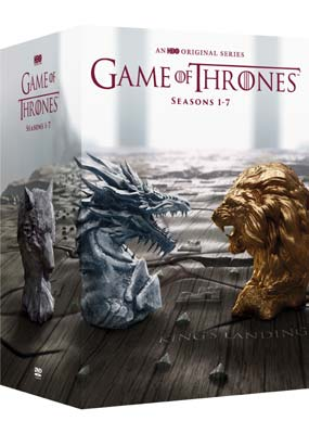 Game of Thrones: Seasons 1-7 (34-disc)  (DVD) - Klik her for at se billedet i stor størrelse.