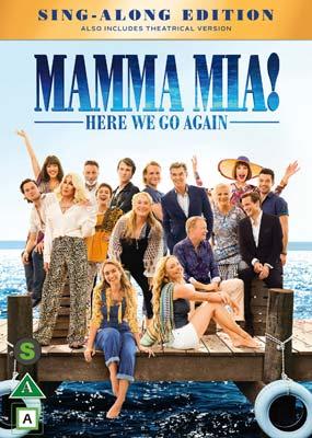 Mamma Mia! Here We Go Again  (DVD) - Klik her for at se billedet i stor størrelse.