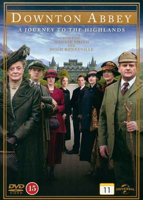 Downton Abbey:     A Journey to the   Highlands  (DVD) - Klik her for at se billedet i stor størrelse.