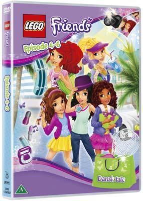 LEGO Friends #2: Episode  4-6  (DVD) - Klik her for at se billedet i stor størrelse.