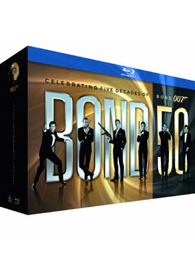 James Bond - 22 Film   Collection (Blu-ray) (BD) - Klik her for at se billedet i stor størrelse.