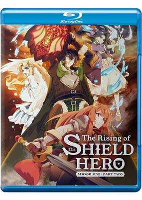 Rising of The Shield Hero, The: Season 1, Part 2 (Blu-ray & DVD) (BD) - Klik her for at se billedet i stor størrelse.