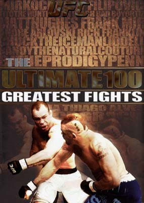 UFC: Ultimate 100 Moments (8-disc) (DVD) - Klik her for at se billedet i stor st�rrelse.