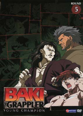 Baki the Grappler  #5: Young Champion  (DVD) - Klik her for at se billedet i stor st�rrelse.