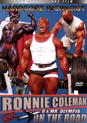 Ronnie Coleman: On the Road  (DVD) - Klik her for at se billedet i stor st�rrelse.