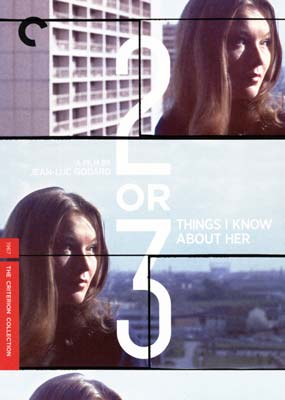 2 or 3 Things I Know about Her... (Criterion) (DVD) - Klik her for at se billedet i stor st�rrelse.