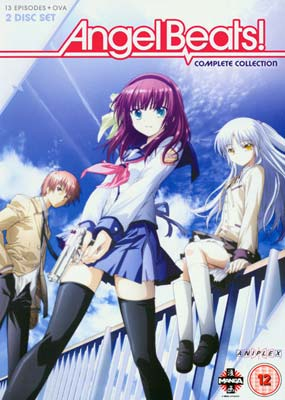 Angel Beats! Complete    Collection (2-disc) (DVD) - Klik her for at se billedet i stor st�rrelse.