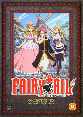 Fairy   Tail:  Collection    Six (Episodes 121-142)  (DVD) - Klik her for at se billedet i stor størrelse.