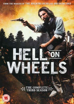 Hell on Wheels: Season  3 (3-disc) (DVD) - Klik her for at se billedet i stor størrelse.