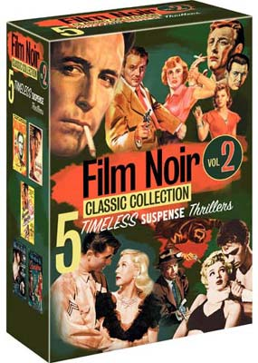 Film Noir Classic Collection, Vol. 2 (5 film) (DVD) - Klik her for at se billedet i stor st�rrelse.