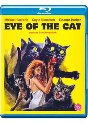 Eye of the Cat: Limited Edition  (Blu-ray) (BD) - Klik her for at se billedet i stor størrelse.