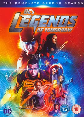 DC's Legends of Tomorrow: Season   2 (4-disc) (DVD) - Klik her for at se billedet i stor størrelse.