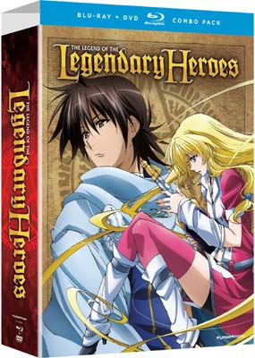 Legend of the Legendary Heroes, The: Part 1 (Blu-ray & DVD) (BD) - Klik her for at se billedet i stor st�rrelse.