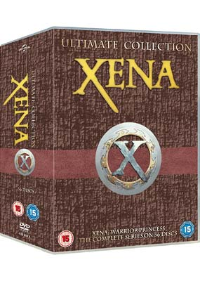 Xena - Warrior Princess:  The Complete Collection (36-disc) (DVD) - Klik her for at se billedet i stor størrelse.