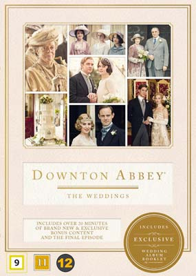 Downton Abbey: The Weddings  (DVD) - Klik her for at se billedet i stor størrelse.