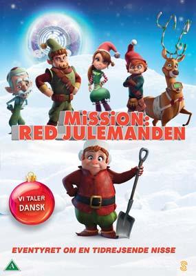 Mission: Red Julemanden  (DVD) - Klik her for at se billedet i stor størrelse.
