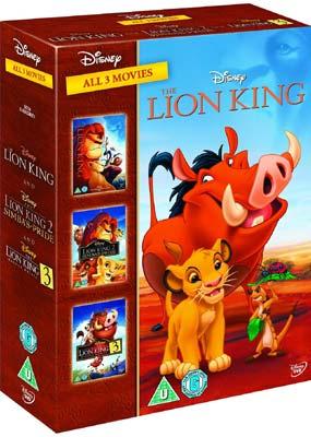 løvernes konge trilogi