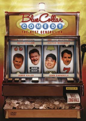 Blue Collar Comedy: The Next Generation  (DVD) - Klik her for at se billedet i stor st�rrelse.