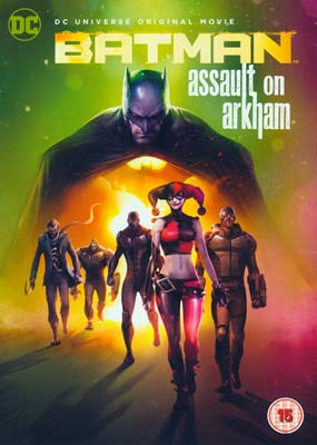 Batman: Assault on Arkham (2-disc) (DVD) - Klik her for at se billedet i stor størrelse.